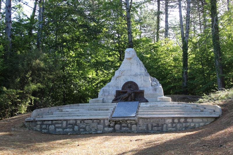 monument du 106 - crête des Eparges